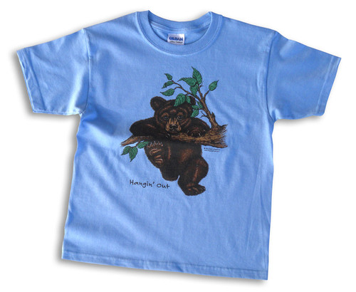 Hanging Out Bear Cub Kids' T-shirt