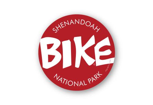 Wholesale Red Bike Sticker
