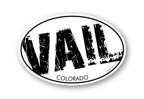 Wholesale Grunge Slant Sticker
