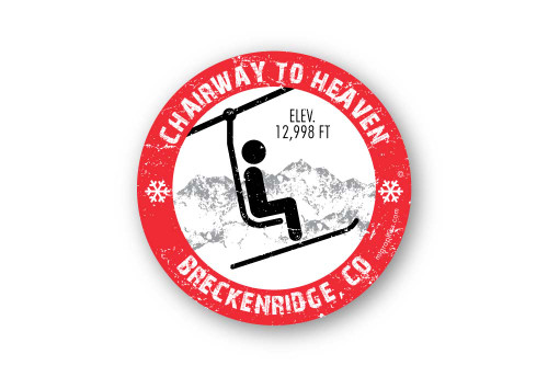 Wholesale Chairway to Heaven Sticker