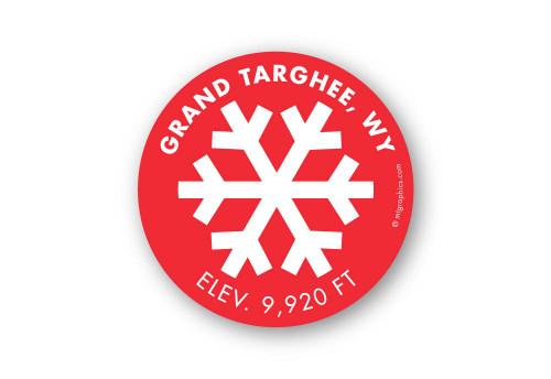Wholesale White Snowflake Sticker