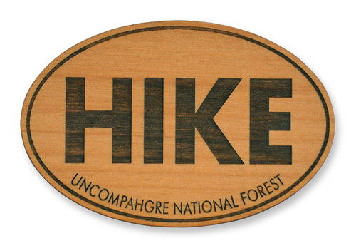 Wholesale Hike Wooden Magnet