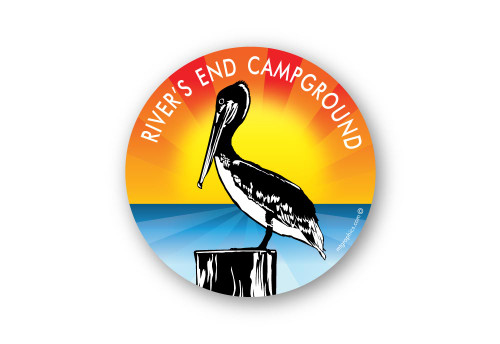 Wholesale Pelican on Post Sticker
