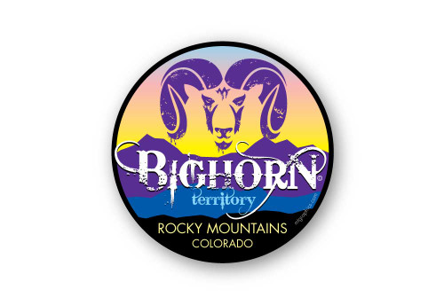 Wholesale Bighorn Mountains Sticker