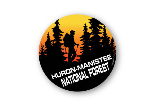 Wholesale Forest Hiker Sticker