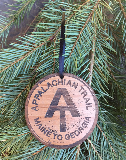 "3"" round Appalachian Trail Ornament"