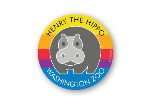 Wholesale Hippo Sticker