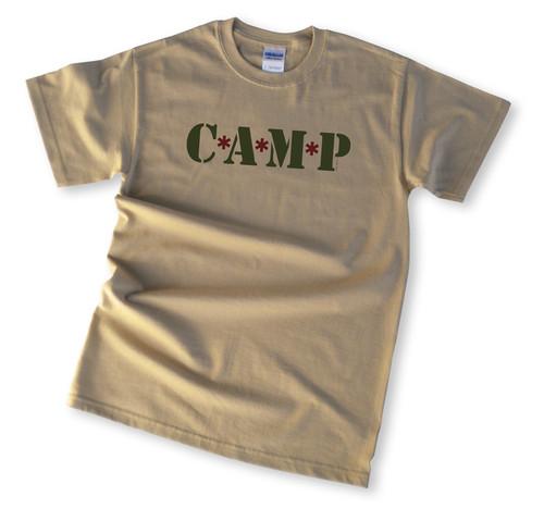 Camp MASH, Camping T-Shirt