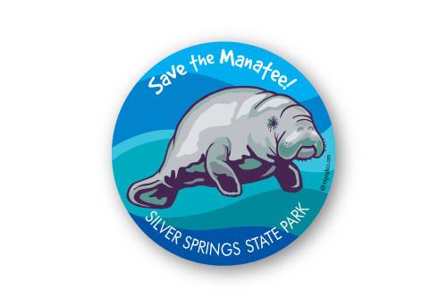 Wholesale Manatee Sticker