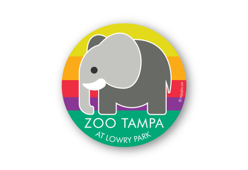 Wholesale Elephant Icon Sticker