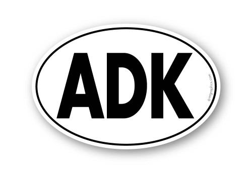 """4""""X6"""" oval sticker"""