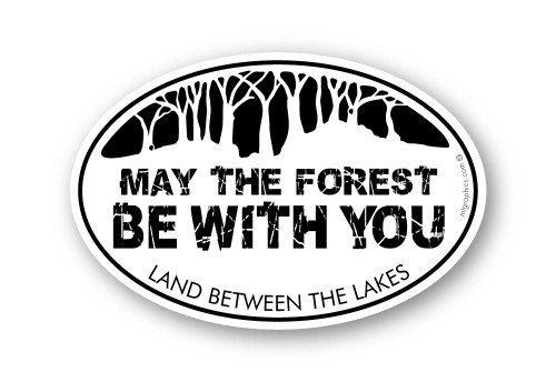 Wholesale May The Forest Sticker