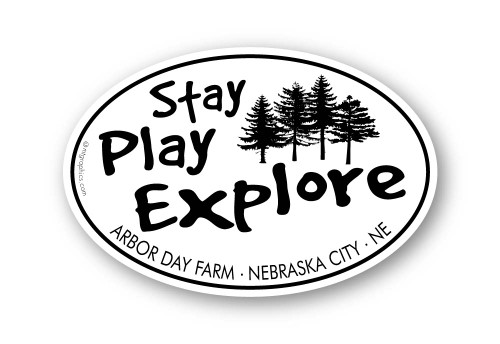 Wholesale Stay Play Explore Sticker