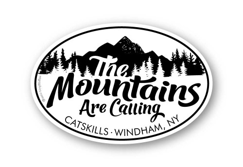 Wholesale Mountains Are Calling Sticker