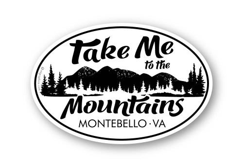 Wholesale Take Me to the Mountains Sticker