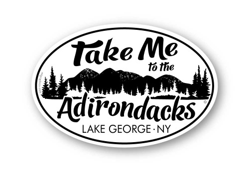 Wholesale Take Me to the Adirondacks Sticker