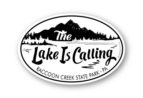 Wholesale Mountain Lake is Calling Sticker