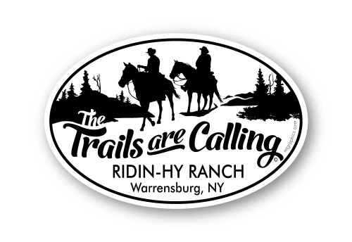 Wholesale Trails are Calling Sticker
