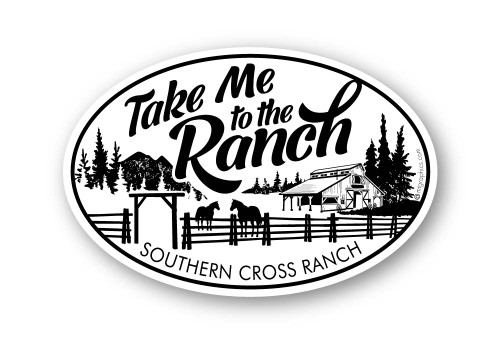 Wholesale Take Me to the Ranch Sticker