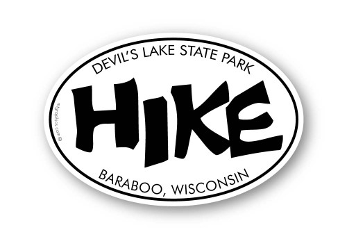 Wholesale Funky Hike Sticker