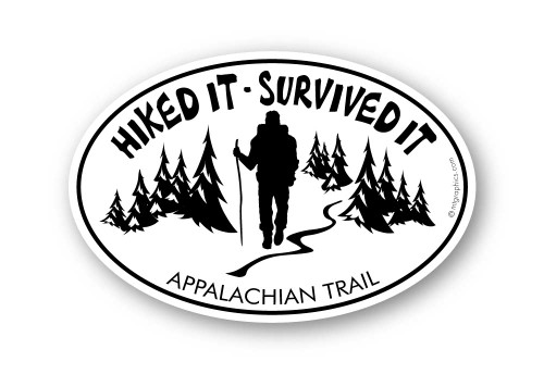 Wholesale Hiked It Survived It Sticker