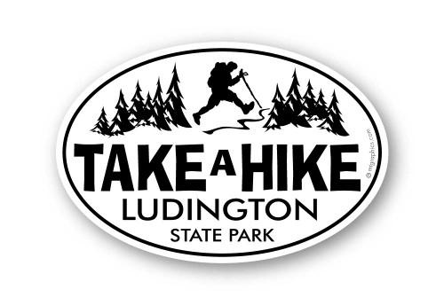 Wholesale Classic Take A Hike Sticker