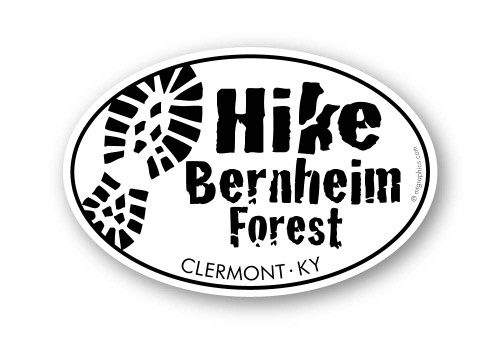 Wholesale Hike Track Sticker