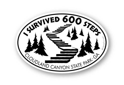 Wholesale I Survived Stairway Sticker