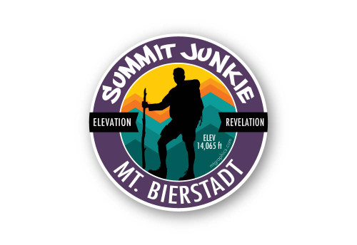 Wholesale Summit Junkie Sticker
