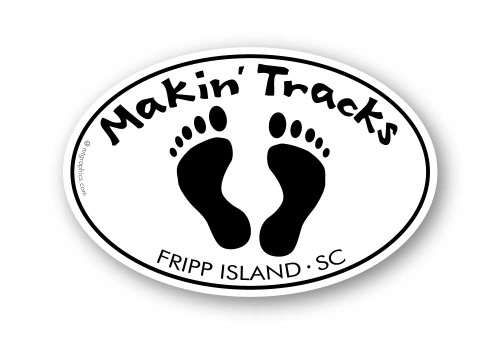 Wholesale Making Tracks Footprints Sticker