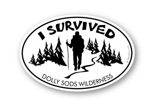 Wholesale I Survived Hiker Sticker