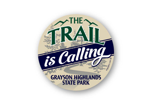 Wholesale Trail is Calling Sticker