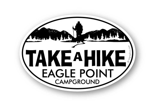 Wholesale Mountain Take A Hike Sticker