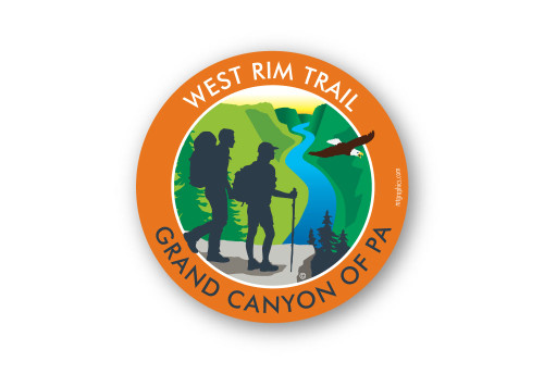 Wholesale Canyon Trail Sticker