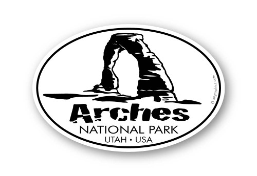 Wholesale Arches Sticker