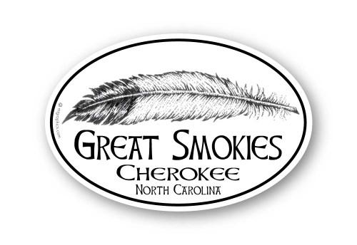 Wholesale Eagle Feather Sticker
