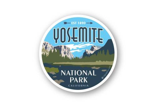 Wholesale Yosemite Valley Sticker