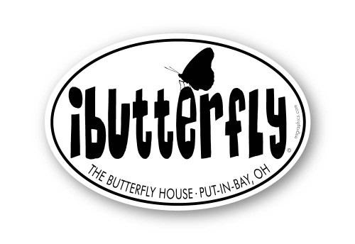Wholesale I Butterfly Sticker