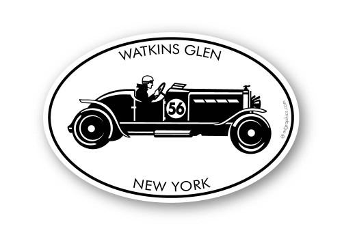 Wholesale Vintage Race Car Sticker