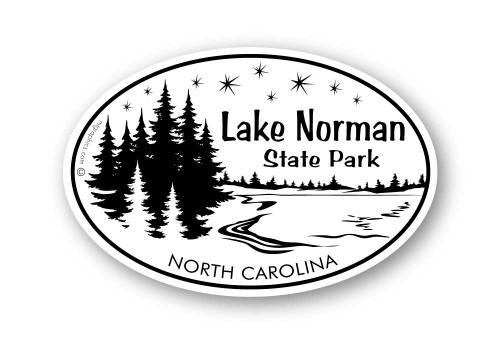 Wholesale Wood Lake with Stars Sticker
