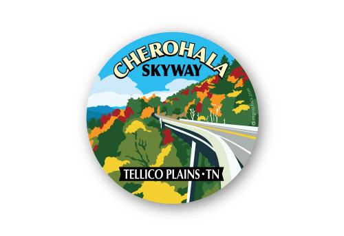 Wholesale Fall Skyway Sticker