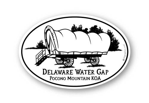 Wholesale Conestoga Wagon Sticker