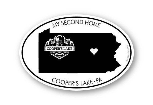 Wholesale My Second Home Sticker