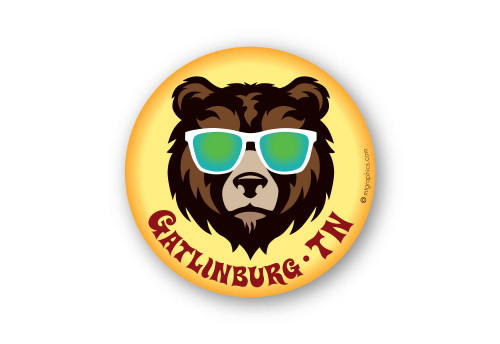 Wholesale Cool Bear Sticker