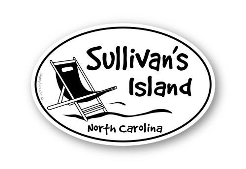 Wholesale Beach Chair Sticker