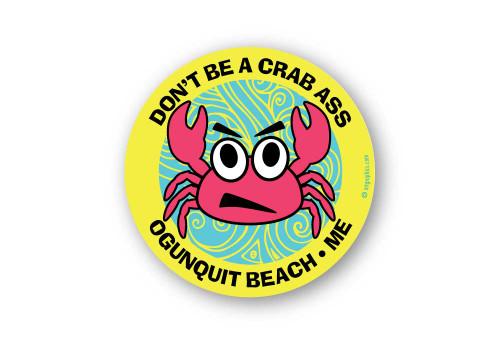 Wholesale Crab Ass Sticker