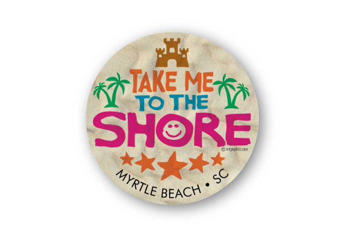 Wholesale Take Me to the Shore Sticker