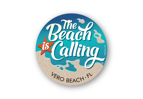 Wholesale The Beach is Calling Sticker