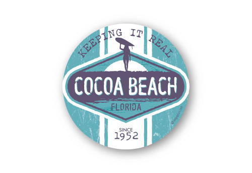 Wholesale Vintage Surf Board Sticker