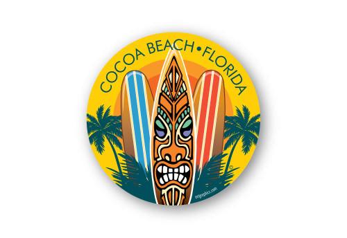 Wholesale Surf Boards Sun Sticker